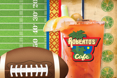 Robertos Sunday Football Specials