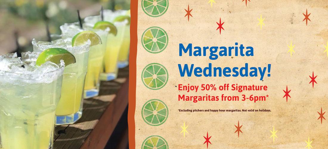 Robertos Margarita Wednesday